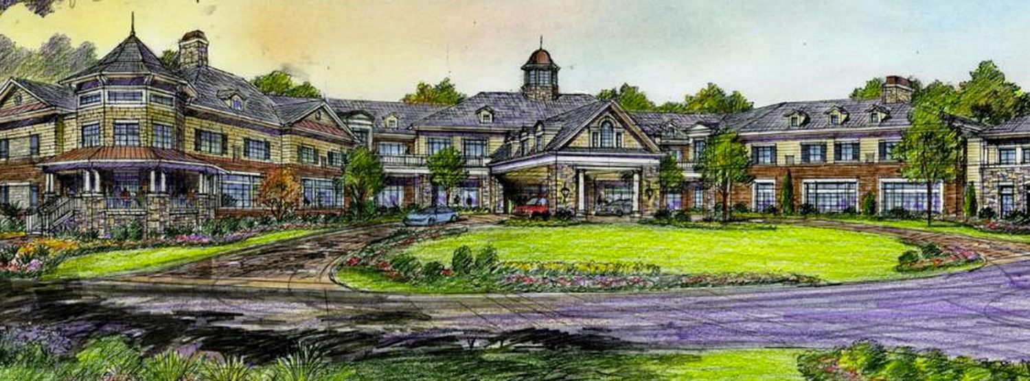Rendering of entrance Way to Sterling Estates West Cobb in Marietta Georgia
