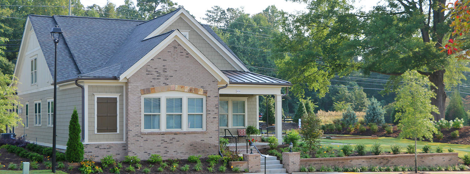 Newly built cottage featured homes at Sterling Estates West Cobb in Marietta Georgia