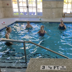 Water Aerobics Class at Sterling Estates of West Cobb in Marietta, GA