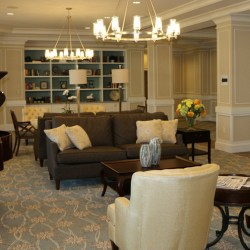 View of Sterling Estates West Cobb's grand community living room in Marietta, GA