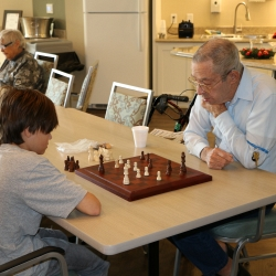 Chess Match at Sterling Estates of West Cobb in Marietta, GA