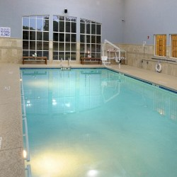 Indoor Heated Saltwater Aerobic Pool at Sterling Estates of West Cobb in Marietta, GA