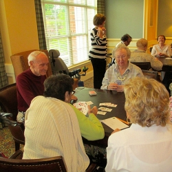 Playing Cards at Sterling Estates of West Cobb in Marietta, GA